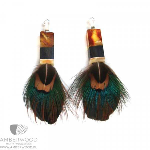 Kolczyki Amberwood SP1202