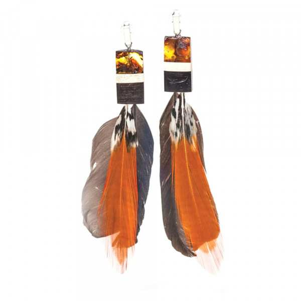 Earrings Amberwood SP1203