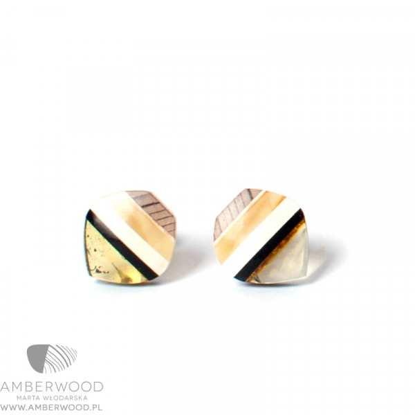 Kolczyki Amberwood SM1212
