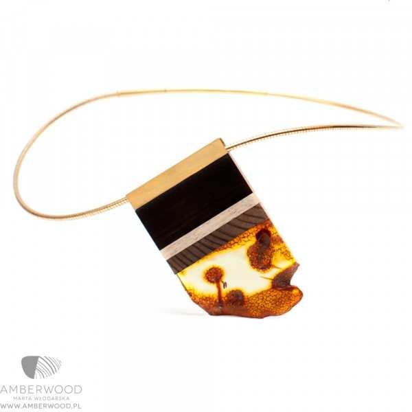 Necklace Amberwood GOLDSI2N