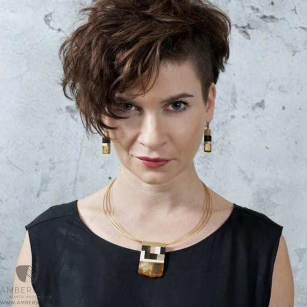 Necklace Amberwood GOLDSI1N