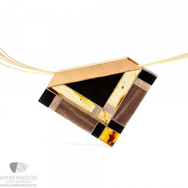 Halskette Amberwood GOLDTR1N