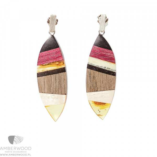 Earrings Amberwood E1103