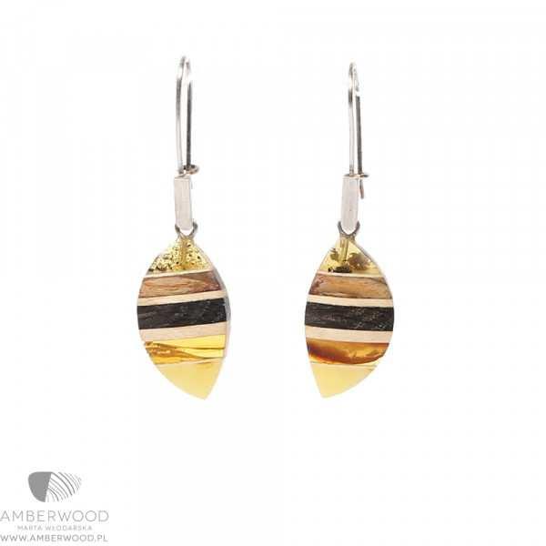 Earrings Amberwood ORG1201ES