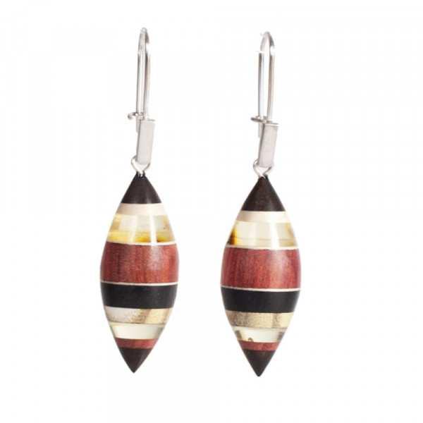 Earrings Amberwood FLO1204E