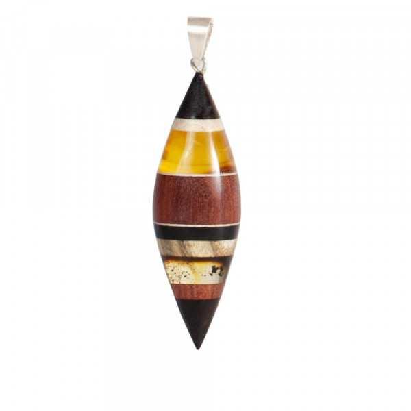 Halskette Amberwood FLO1204N