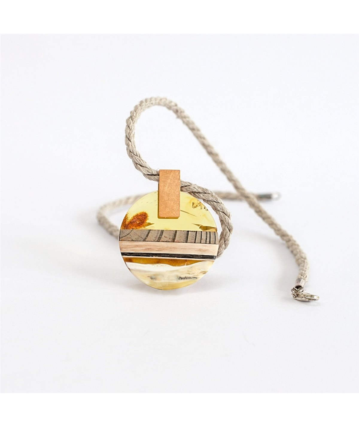 Sunset Unique Pendant Necklaces Amberwood Marta Wlodarska