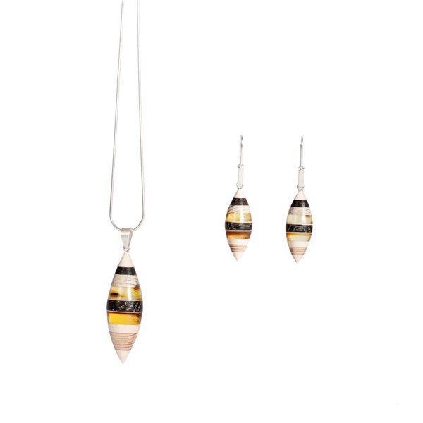FLOATS Necklace by Amberwood Marta Wlodarska