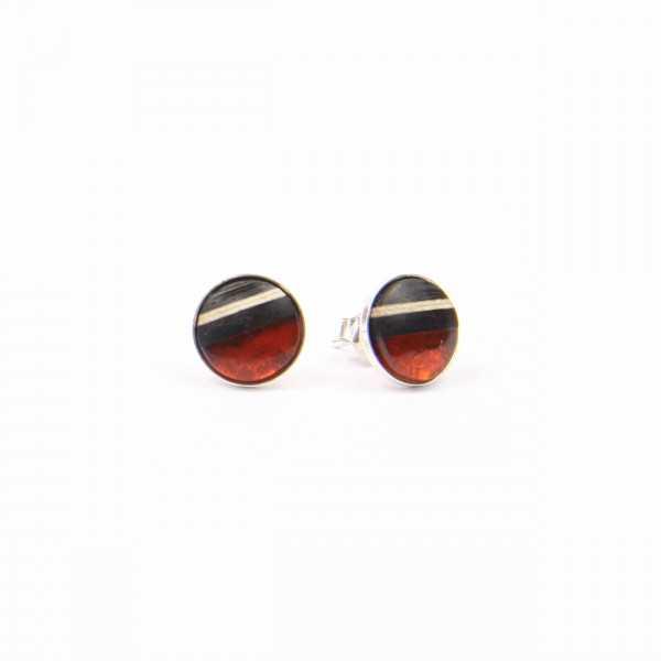 Mini Ohrringe Sunset Rot